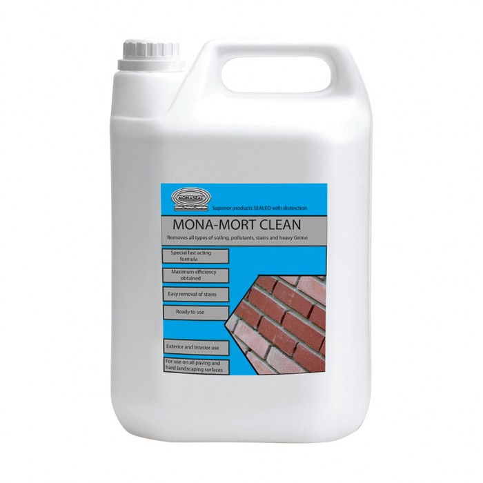 Mona mort cement mortar cleaner for Natural concrete cleaner